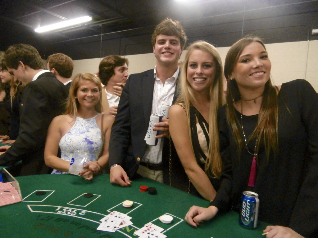 how to host a casino night atlanta