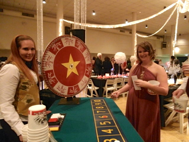 casino night theme