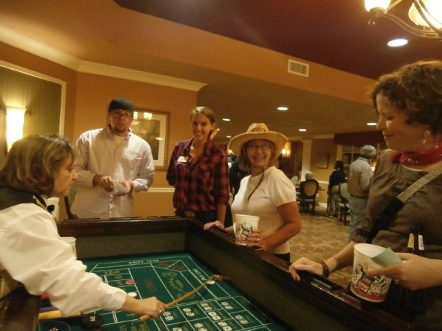 casino theme party rental