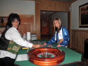 Casino night fundraisers